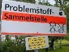 Am 30. April, vormittags werden in Bartholomäberg und Gantschier wieder Alteisen und Problemstoffe gesammelt.