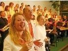 """Am Samstag gastiert der """"Gossau Gospel Choir"""" beim Konzert in der Altacher Kirche."""