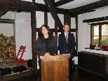 Begrüßung durch Kulturstadträtin Judith Reichart und Stadtarchivar Thomas Klagian