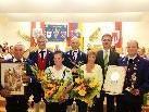 Beim Frühjahrskonzert der Bürgermusik Silbertal gab es gleich zwei Ehrungen verdienter Mitglieder.