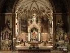 Blick in die Pfarrkirche zum heiligen Jodok in Schruns