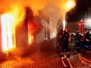 Brand in Kremser Altstadt