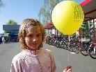 Das Mobilitätsfest beim Lustenauer Bahnhof war ein Publikumshit.