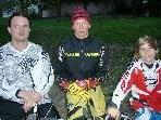 Das Spitzentrio beim Vereinscup: Mario Noventa (3.), Michael Lingg (1.) und Frederick Ender (2.).