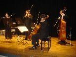 """Das """"ensemble plus"""" gastiert bei Musik am Nachmittag in der Remise."""