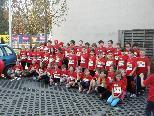Das intensive Training für den kids run in Bludenz hat sich für die Schüler/innen der VS - Nüziders ausgezahlt