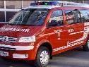 Das neue Kommandofunkfahrzeug der Feuerwehr Gaschurn.