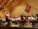 Der Musikverein Schwarzenberg bot ein effektvolles und anspruchsvolles Konzert.