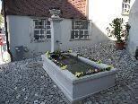"""Der wünderschön geschmückte """"Osterbrunnen"""" im Feldkircher Ortsteil Heilig Kreuz/Im Kehr"""