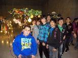 Die 1b Klasse zeigte sich von der Ausstellung begeistert