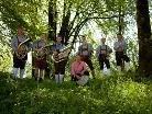 Die Blechjäger musizieren live beim ORF - Frühschoppen in Stallehr