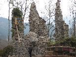 Die Burgruine Blumenegg ein Denkmal für die Bevölkerung