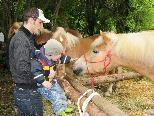 Die Freizeittierhalter laden zur Tierausstellung bei Luisls Farm ein.