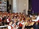Die Harmoniemusik Ludesch zeigte sich beim Kirchenkonzert von ihrer besten Seite.