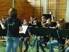 Die Jungmusik Cilli war zu Besuch in der Volksschule Batschuns.