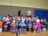 Die Kindergartenkinder waren zu Gast in der VS Brederis