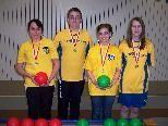 Die Medaillengewinner des SKC Koblach bei den Titelkämpfen in Dornbirn.