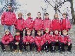 Die U9 des FC Dornbirn ist gerüstet für die Rückrunde in der Meisterschaft.