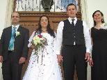 Doris Frei und Markus Hartmann gaben sich in der Villa das Jawort