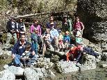 Familiengruppe an der Bolgenach