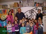 """""""Farbenbärchen"""" aus dem Kindergarten BRAIKE im Atelier von Helmut King"""