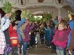 Feierstunde Kindergarten Meiningen zum Abschluss der Fastenzeit.