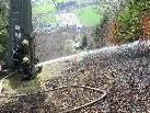Feuerwehr Silbertal im Einsatz