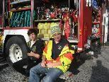 Feuerwehrjugend beim letzen Ausflug