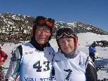 Große Erfolge für Helga Knapp und Toni Riedmann in Sestriere