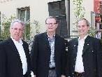 Günter Lampert und Bgm Eugen Gabriel informierten NR Klubobmann Karlheinz Kopf über die Aktivitäten von aqua mühle frastanz.