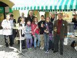 Hospizbewegung informierte, verteilte Blumenstöcke und sammelte Spenden in ganz Vorarlberg