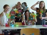 Humanitäres Engagement der 1a-Schülerinnen