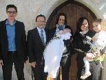 Ida Charlotte wurde in der St. Vinerkirche getauft