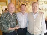 Isidor Riedl, Albert Hämmerle und Günter Dellanoi (v.l.) wurden Vizemeister im Teambewerb.