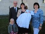 Jakob Christian erhielt in der Pfarrkirche das Sakrament der Taufe
