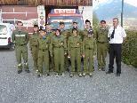 Jugendfeuerwehr St. Gerold und Betreuer