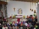 Jugendmesse in Gantschier mit der Trachtenkapelle Gantschier