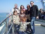 Jung und Alt zog es zum Tag der Schifffahrt in den Bregenzer Hafen