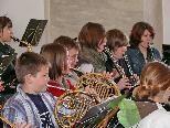 Jungmusik gestaltet Gottesdienst