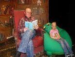 Lesung mit Schauspieler Mario Plaz