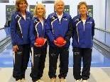 Mannschaft KT Stadt Feldkirch 2 (Anna Glantschnig, Sonja Allgäuer, Hadi Joguncic, Doris Schatzmann)