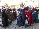 Mitglieder der TG Feldkirch beim Auftanz in der Marktgasse
