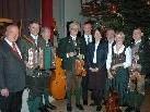 Obmann Hans Kallinger (3. von rechts) beim letzten Oberösterreicher Advent in Bregenz.