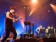 Owen Pallett war der zweite Höhepunkt des ersten Abends des Donaufestivals.
