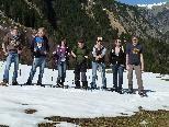 Schneeschuhwandern im Gadental/Großes Walsertal