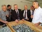 Sozialminister Hundstorfer zeigte für das ABO - Projekt in Ludesch Interesse.