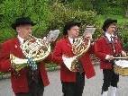 """Tradition hat das """"Maiblasen"""" des Musikvereines Lochau"""