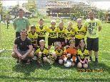 Unsere U 9 Mannschaft mit Trainer Quido, Stefan und Mario