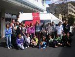 Viel Freude hatten die VMS Blons beim  Roten Kreuz Besuch in Bludenz.