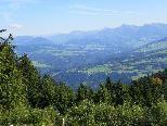 Wanderung durch die schöne Vorarlberger Landschaft